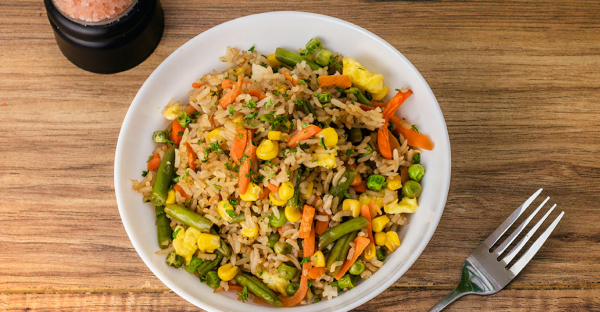 Fried Rice Recipe for Meal Prep