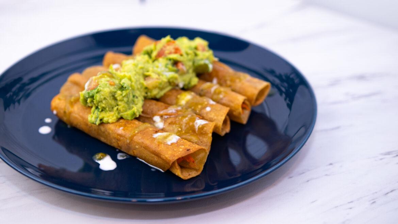 Chicken Roll Tacos Recipe